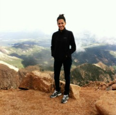 On top of Pikes Peak- haven't climbed it yet but hoping to this year! I thought this picture was quite relevant to this particular post (heh).