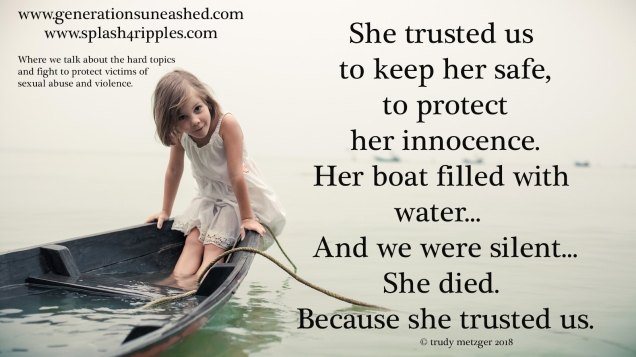 she died_because she trusted us